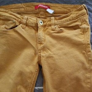 Unionbay Mustard Jeans